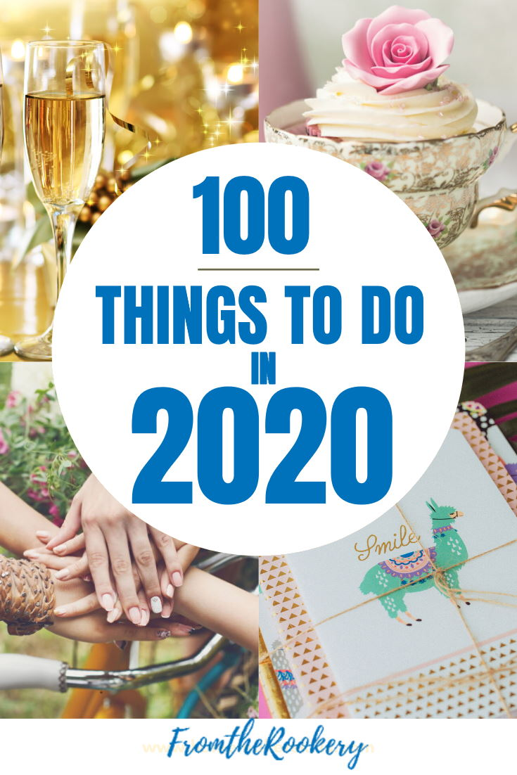 100 things to do in 2020
