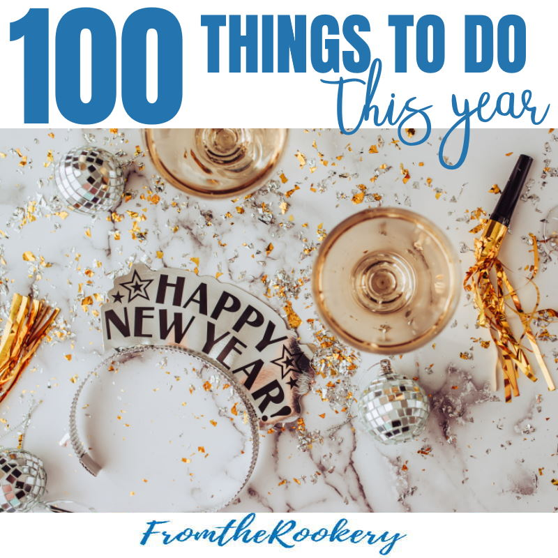 100 things to do this year