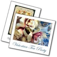 Victorian Tea Party invitations