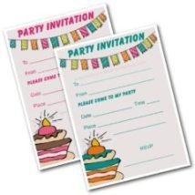 Party Invitations Printable - Free Kids Invites