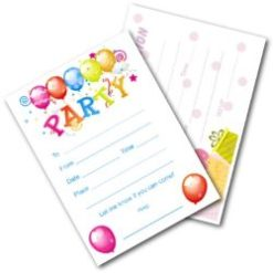 Kids Birthday Party Invites - Free Printable