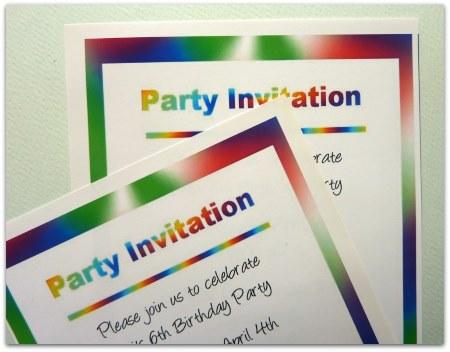 Free Printable Birthday Party Invitation