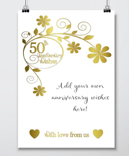 3 Wedding Anniversary Gift Ideas : 50th Wedding Anniversary Gift Ideas