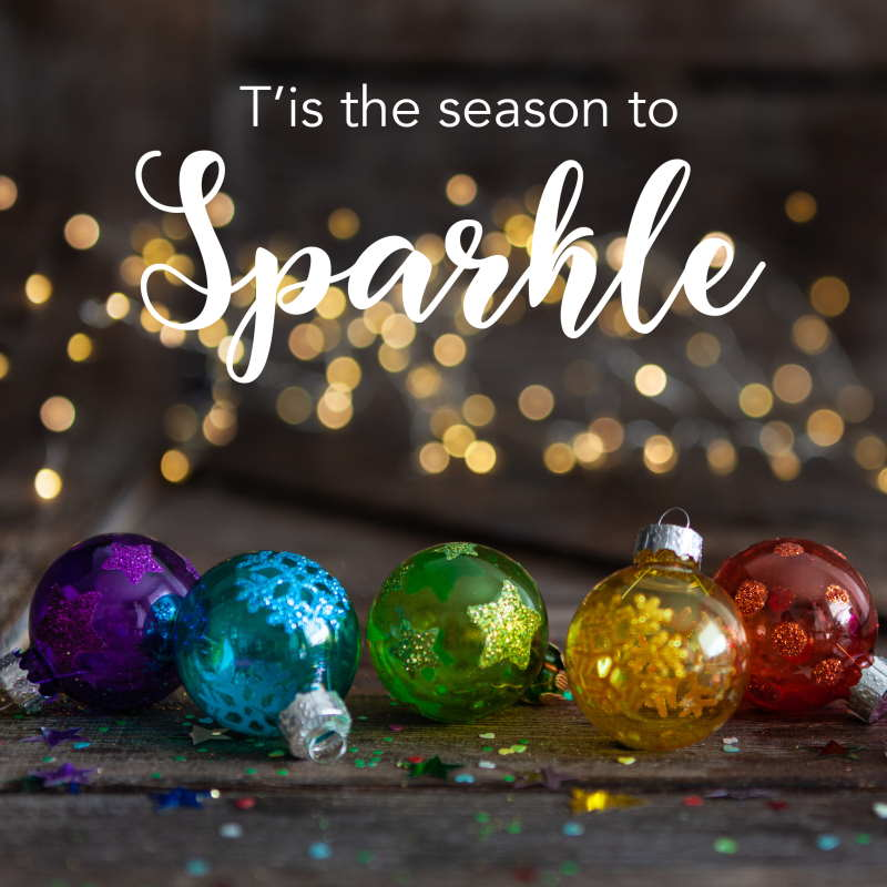 Christmas quote sparkle