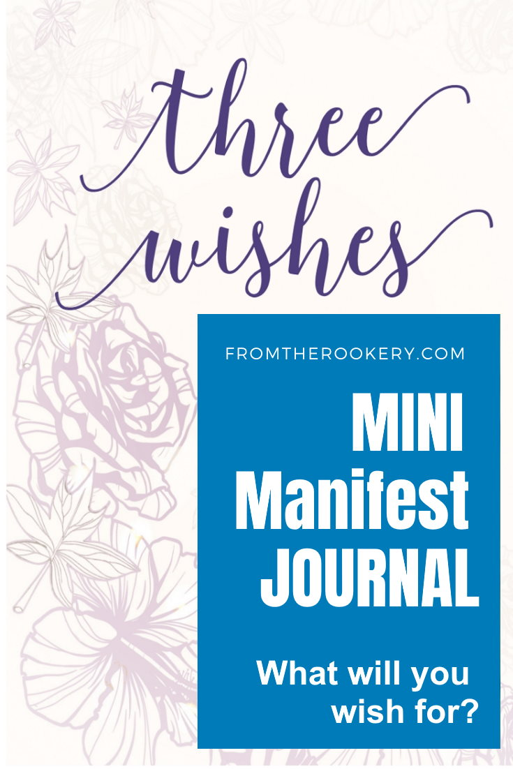 manifesting journal printable