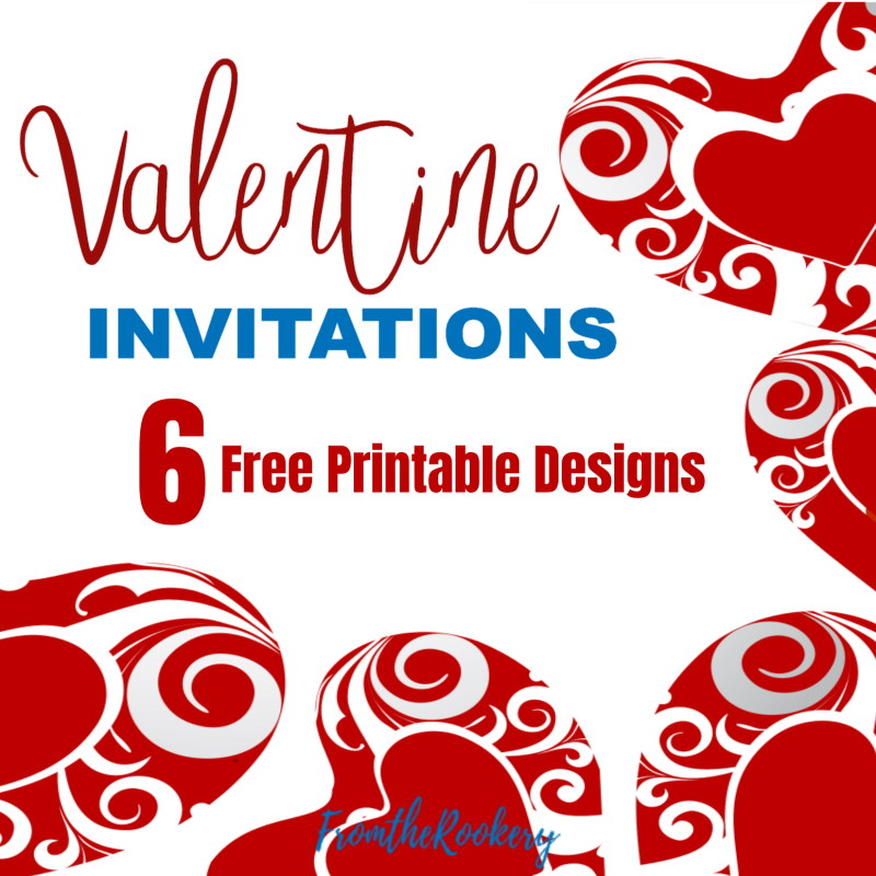 Invitations for Valentine Parties