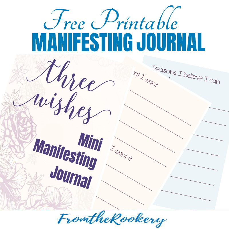 Free Printable Manifesting Journal