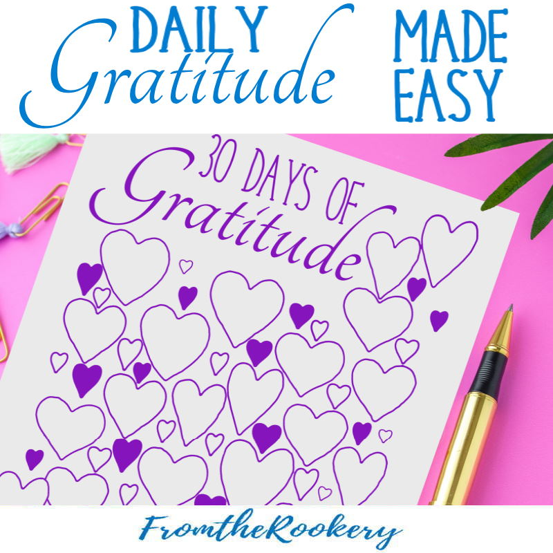 Daily Gratitude Made Easy
