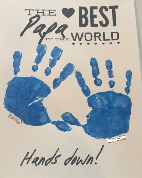 Best Papa in the world print