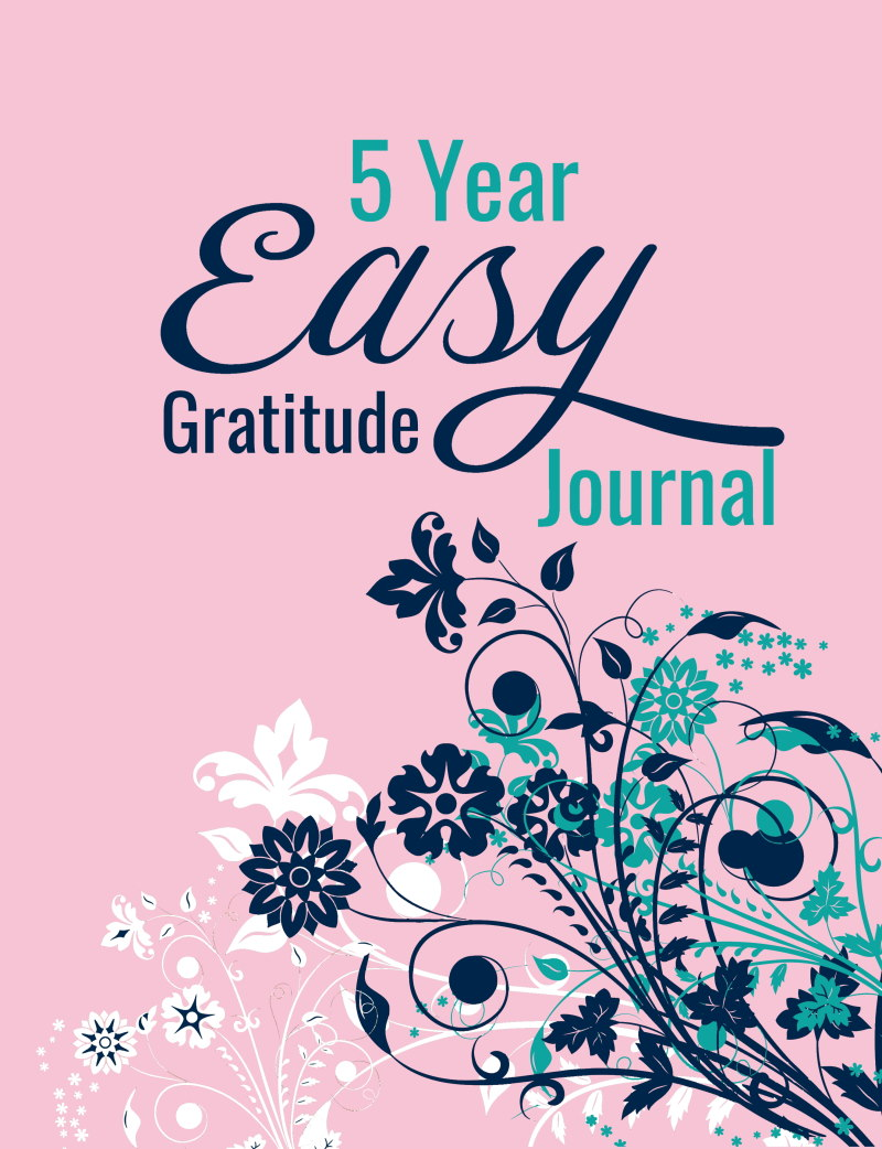 5 Year Easy Gratitude Journal