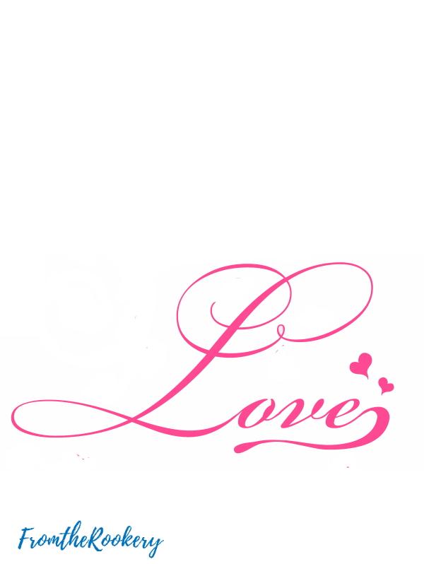 Pink love printable