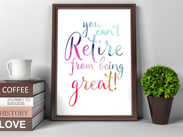 Printable Retirement Gifts