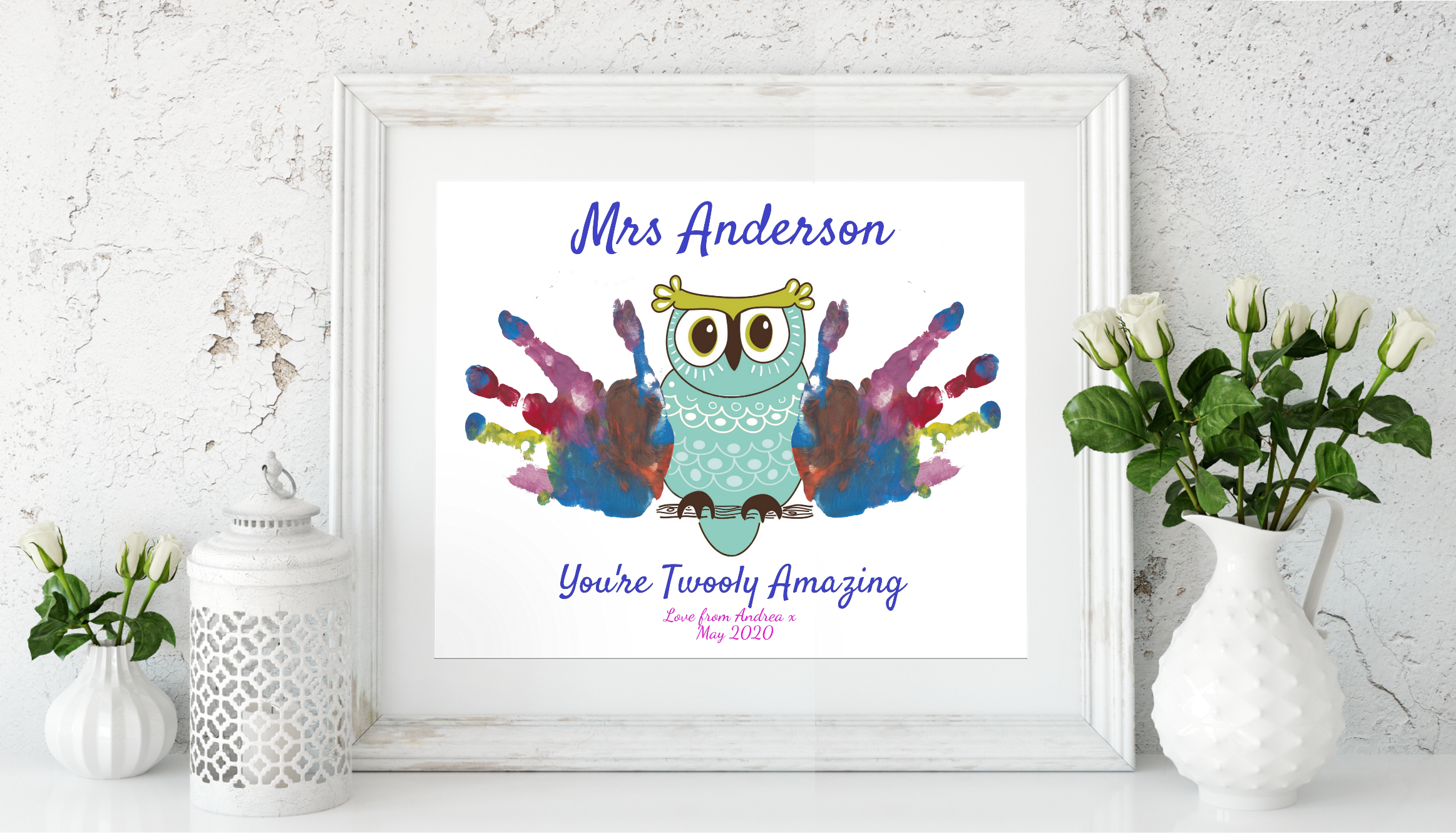 Teacher Appreciation Owl Gift