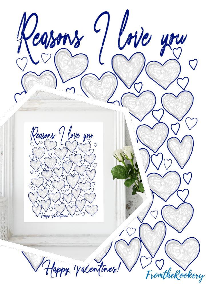 Reasons I love You list