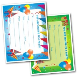 Birthday Party Invitations For Kids - Free Printable