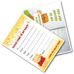 Birthday Party Invites - Free Printable