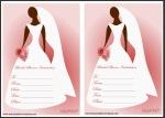 Blank Bridal Shower Invites Thumbnail