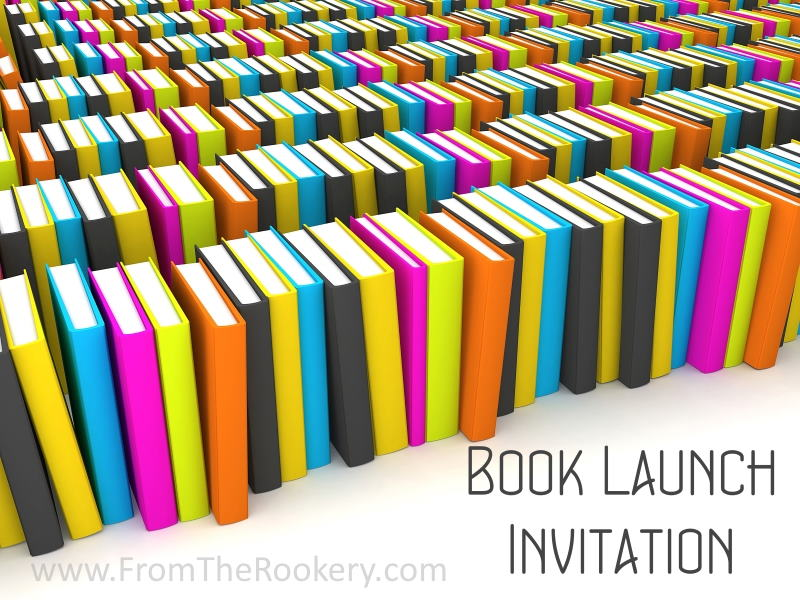 Book Launch Invitation Card