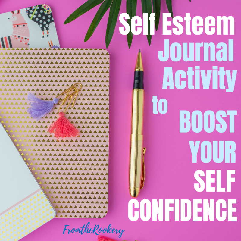 Boost self confidence journal exercise