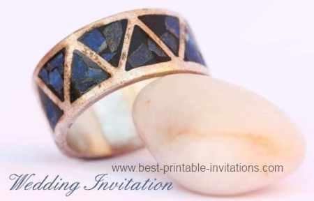 Free Budget Wedding Invitations - Printable Invitation Cards