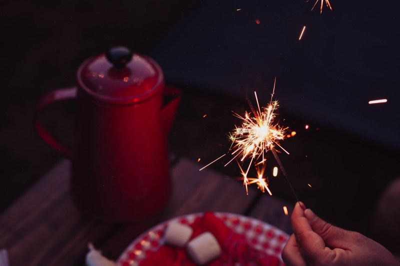 Celebrate New Year Sparkler