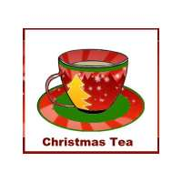 Christmas Tea invitation - teacup design