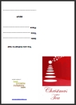 Printable Christmas Tea Party Invitations thumbnail