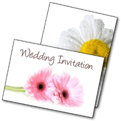 Free Printable Daisy Wedding Invitations - free printable invite cards