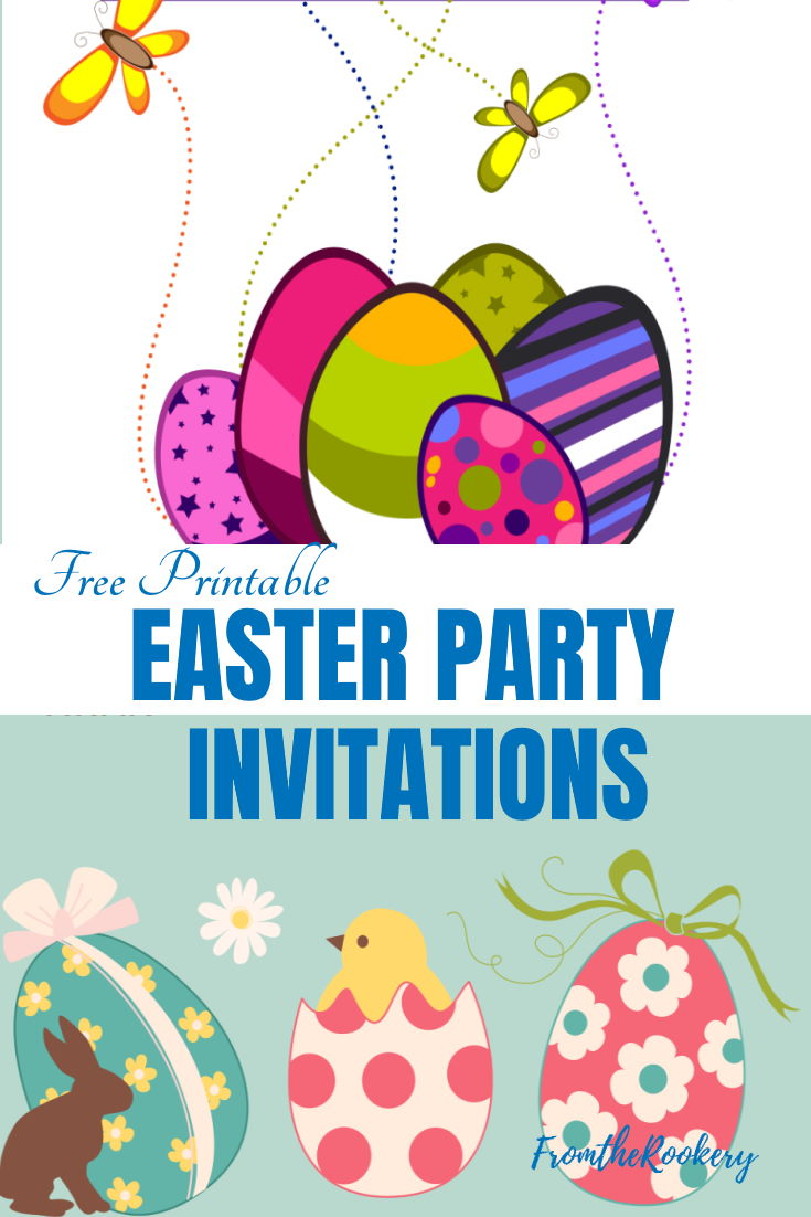 Printable Easter Party Invitations