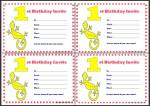 First Birthday Invitations thumbnail