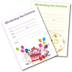 Free Birthday Invitations for Kids - Printable Invites