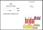 Free printable bridal invitations thumbnail