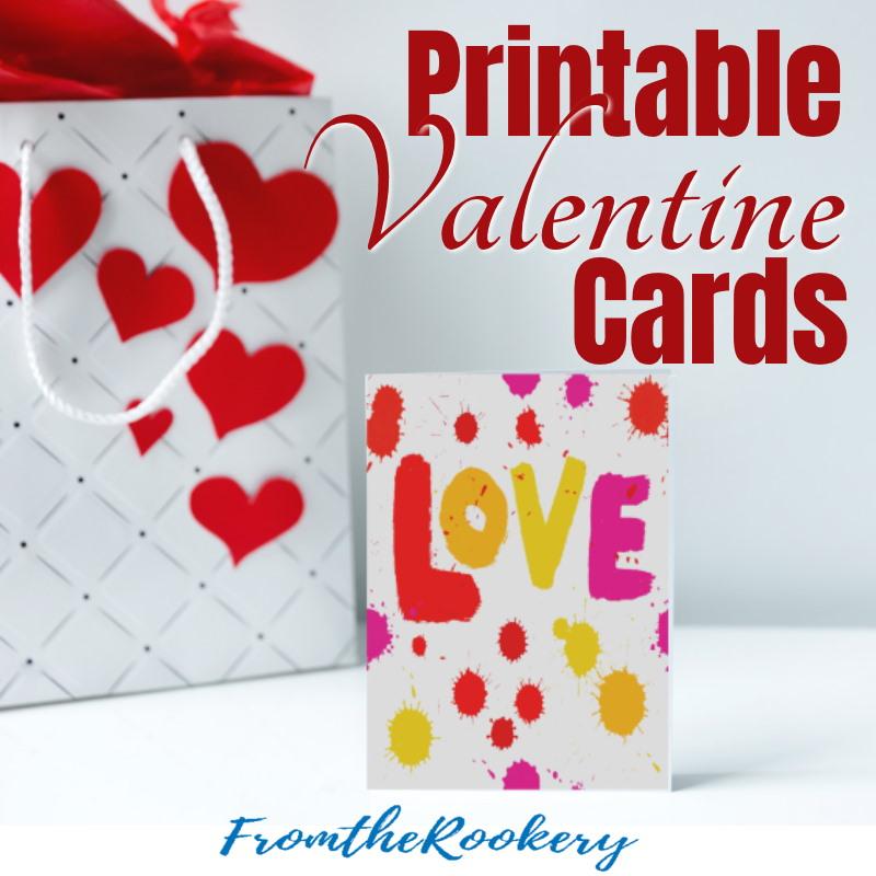 Printable Valentine Cards