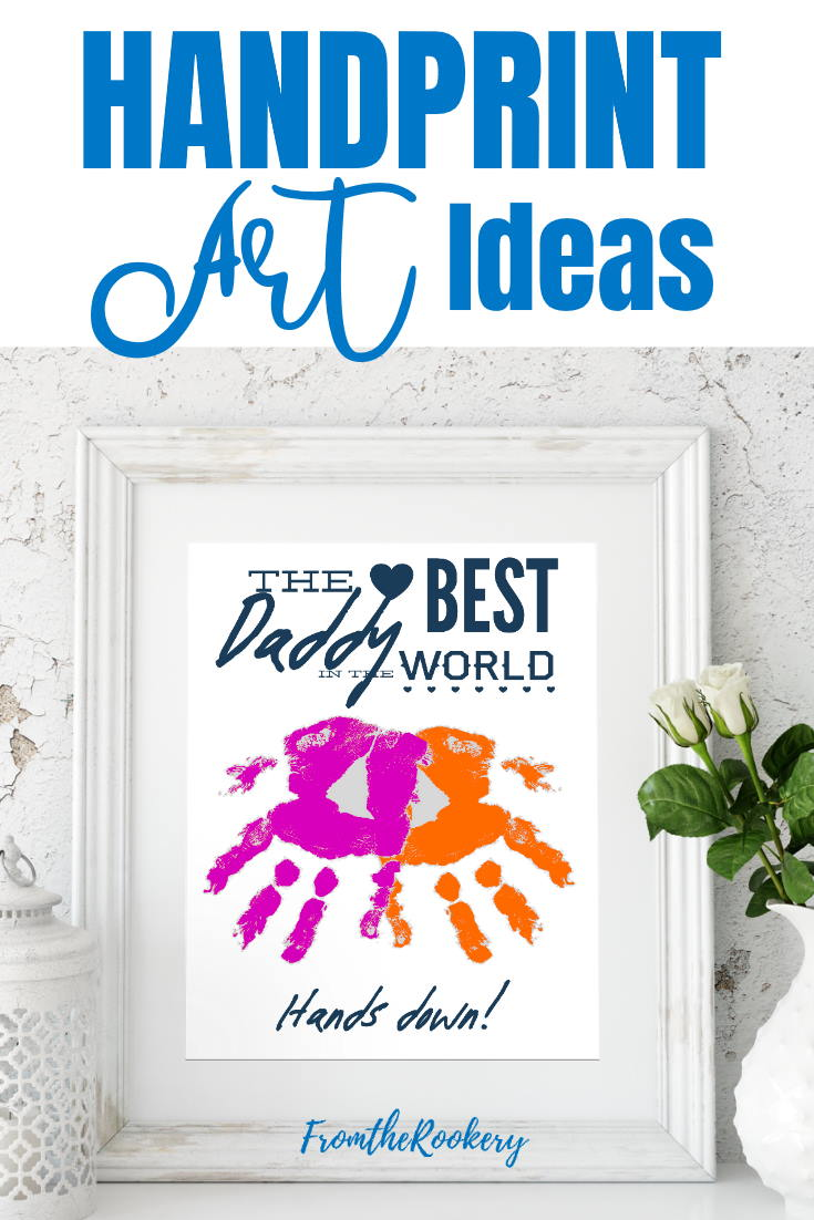 Handprint Art Craft Ideas