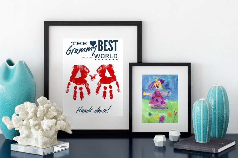 Handprint Art - Best Grandma Ever