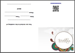 Indian Wedding Invitation Design