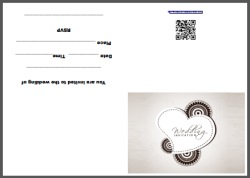 Indian Wedding Invite Card