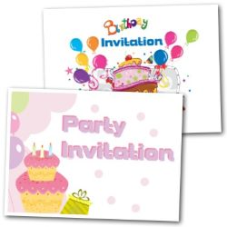 Invitations Party Cards - Free Printable