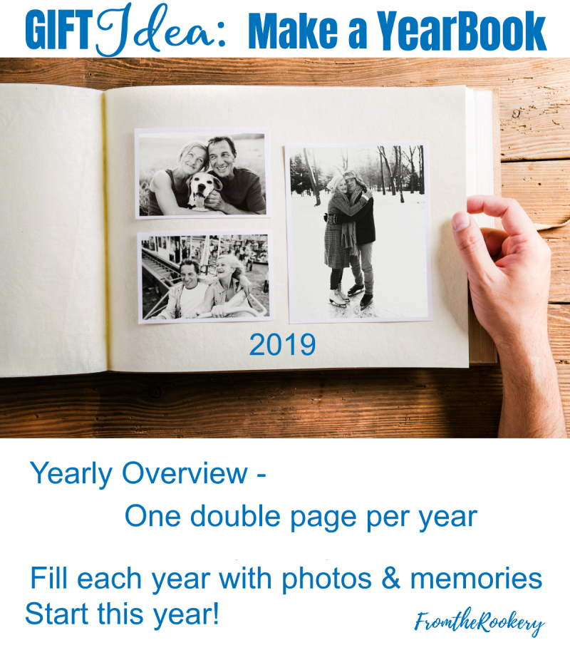New Year's Eve Gift Idea - Yearbook