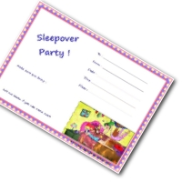 Pajama Party Invitation