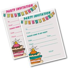 Party Invitations Printable - Free Kids Invites