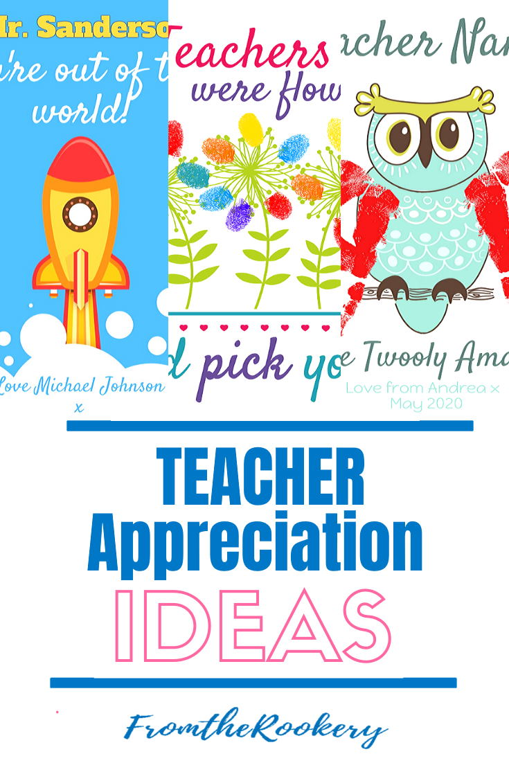 Teacher Gifts - Personalized Teacher appreciation ideas including ideas for male teachers.