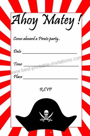 Printable pirate birthday invitations pirate birthday invitations 1g filmwisefo