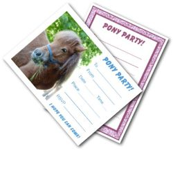 Pony Party Invites