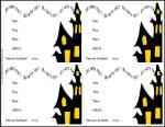 Spooky House Free printable halloween invitations