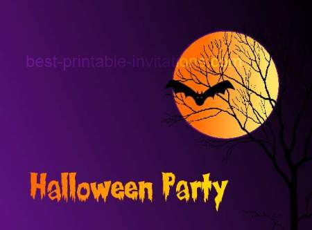 Printable halloween party invitations free printable halloween party invitations stopboris Gallery