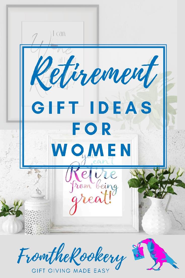Retirement Gift Ideas for Women