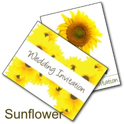 Free Printable Sunflower Wedding Invitations - free printable invite cards