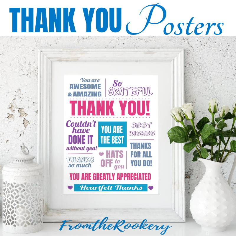 Thank You Posters