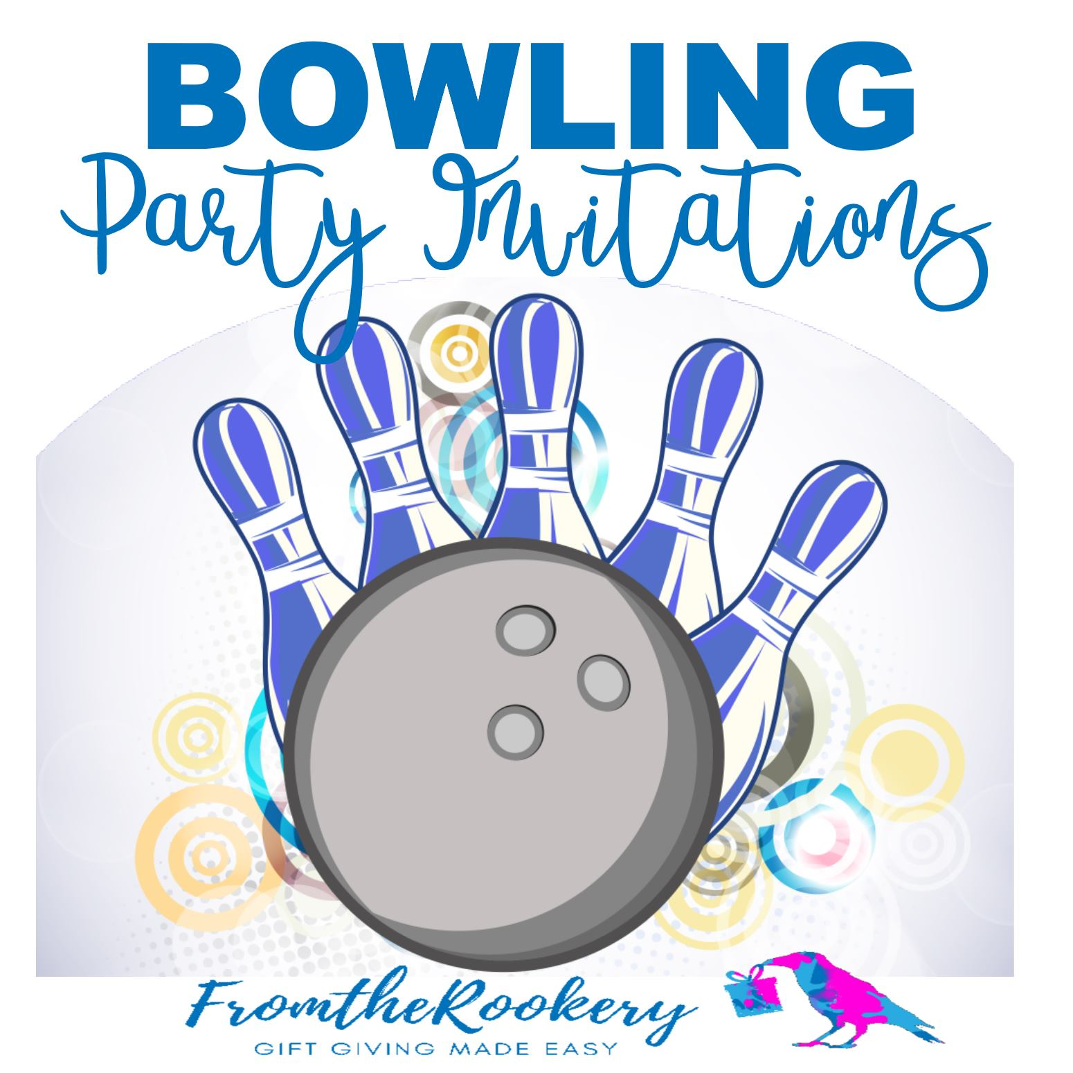 Free Printable Bowling Party Invitations